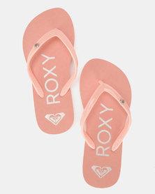 Roxy Sandy II Flip Flops Pcr Peach Cream