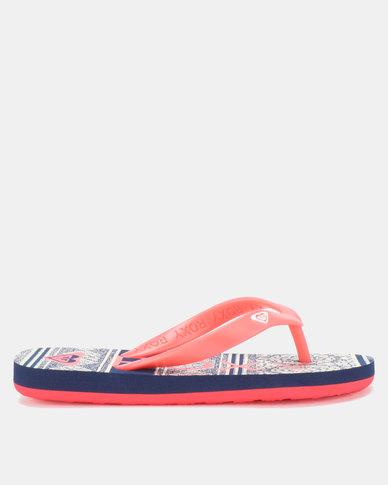 9abe652b7e Roxy Tahiti V Flip Flops Rhb Red
