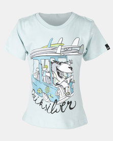 Quiksilver Doggy Printed Boys SS Blue