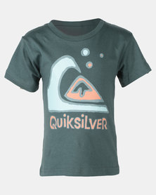 Quiksilver Make My Log Boys SS Green