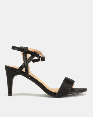 7acf825f039d Glam   Go by Jada Shimmer Heels Black