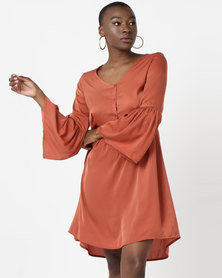 Tasha's Closet Barcelona Dress Rust