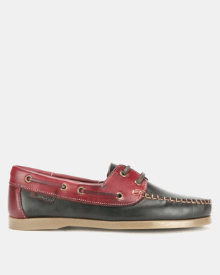 Bronx Men Freeport Casual Lace Up Burgundy/Brown