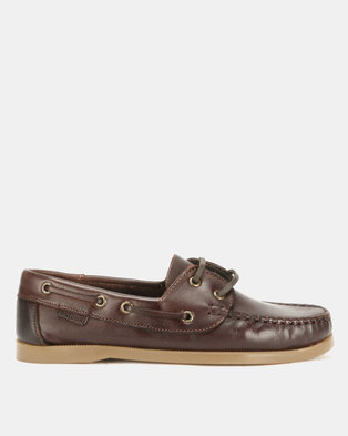 Bronx Men Freeport Casual Lace Up Brown