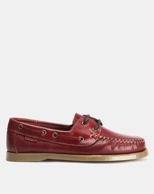Bronx Men Freeport Casual Lace Up Burgundy