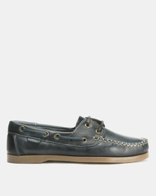 Bronx Men Freeport Casual Lace Up Navy