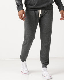 Utopia Fleece Joggers Charcoal