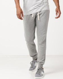 Utopia Fleece Joggers Light Grey