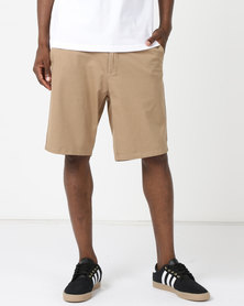 DC Worker Straight Walkshorts Khaki