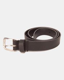Black Lemon Classic Genuine Leather Belt Black