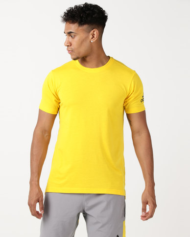 bb81ba80a6 adidas Performance Freelift Prime Tee Yellow