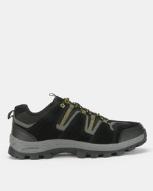 Olympic Huntley Hiker Shoes Black