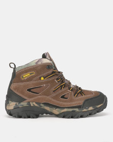 Olympic Trail Out Hiking Boots Brown