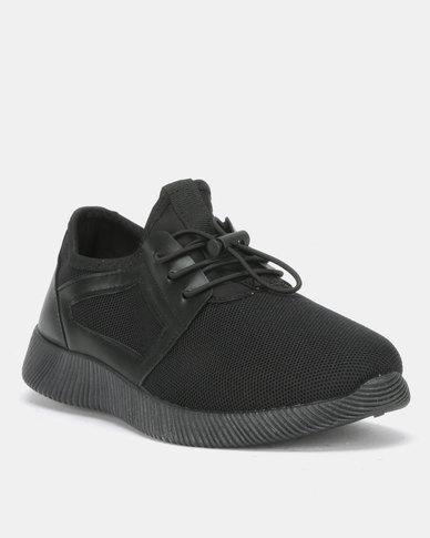 Utopia Mens Sneakers Black