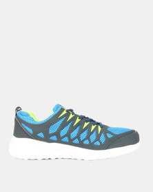 Utopia Mens Sneakers Navy Green