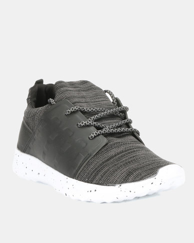 Utopia Mens Sneakers Black Grey