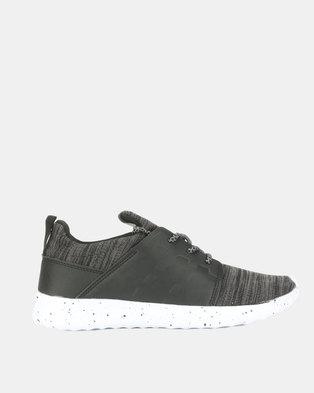 Utopia Mens Sneakers Black Grey