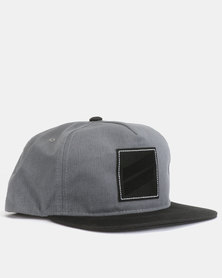 089c0b80199 Hurley One   Only Snapback Cap 00A Black
