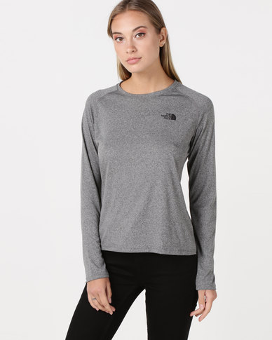e1c1a03a5 The North Face Reaxion Amp Crew T Shirt Grey
