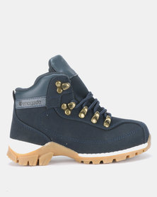 Renegade Trapper Boys Boots Navy