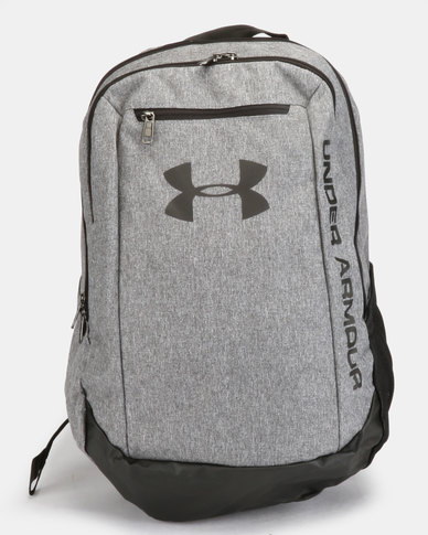Under Armour UA Hustle Backpack Grey  a5b3c6eeee3d1