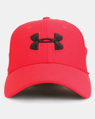 169c9cfa587 Under Armour Men s Blitzing Cap Red
