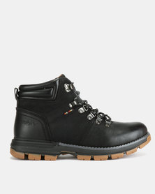 Bronx Men Borris Boots Black
