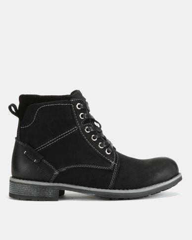 Bronx Men Lennox Boots Black