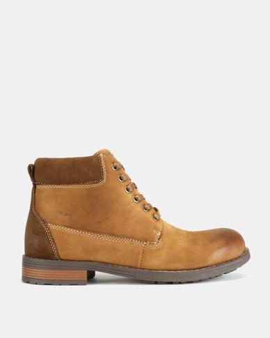 Bronx Men Lennox Boots Brown
