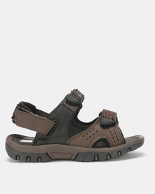 Olympic International Eagle Boys Sandals Brown