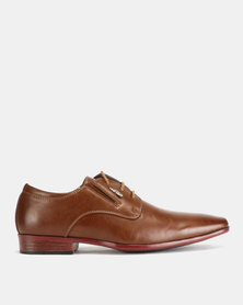 Anton Fabi Raul Lace Up Shoes Brown