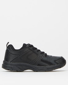 Olympic Recess Boys Trainers Black