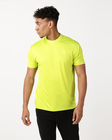 Russell Athletic Crew Neck Performance T-Shirt Lime