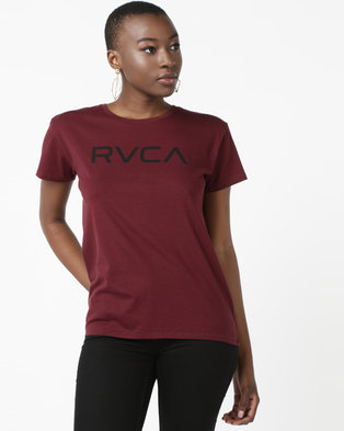 f44f104fb1 RVCA Big RVCA Tee Red