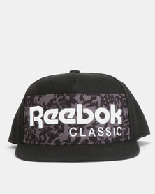 Reebok CL Foundation Archi Cap Black