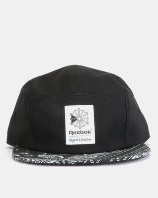 f65a3061343 Reebok CL Bandana Cap Black
