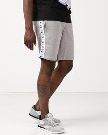 Reebok Track Pants Shorts LGreyH