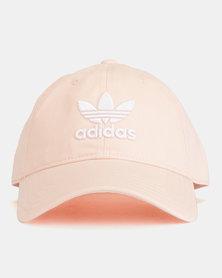 adidas Originals Trefoil Cap BLUPNK/WHITE