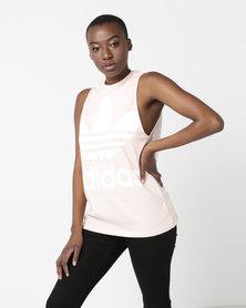adidas Originals Ladies Tank Top BluPnk/White