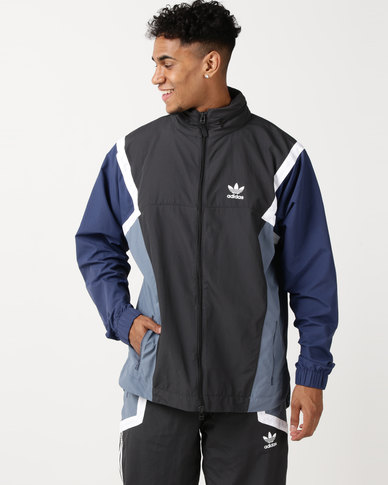 46a367896 adidas Originals Nova Wind Jacket CARBON/RAWSTE