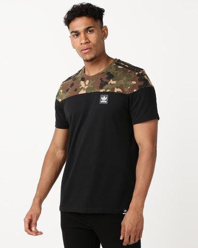 adidas Originals BB Block Tee Black/Campri