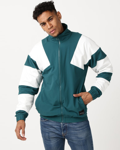 adidas Originals EQT Bold TT 2 0 Jacket MYSGRN/CWHITE