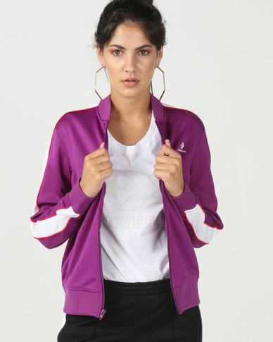 Converse Track Jacket Purple