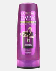L'Oreal Elvive Keratin Straight Conditioner 400ml