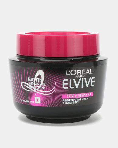 L'Oreal Elvive Triple Resist Masque 300ml