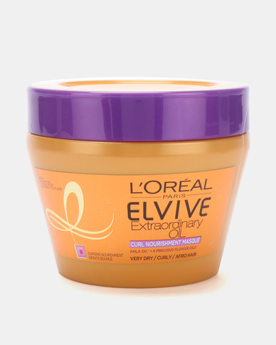 DISC L'Oreal Elvive Curl Nourishment Masque Pot 300ml