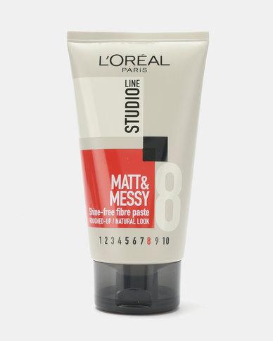 L'Oreal Studio Line Matte & Messy Tube 150ml