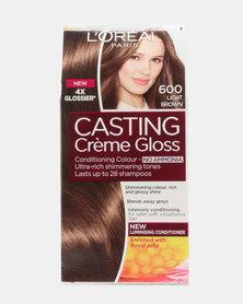 L'Oreal Casting Creme Gloss Light Brown 600