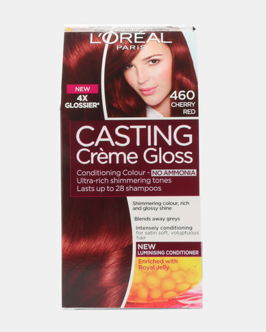 L'Oreal Casting Creme Gloss Cherry Red 460