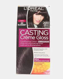 L'Oreal Casting Creme Gloss Ebony Black 200